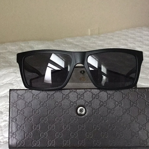 51cc8378421 Gucci Other - Gucci GG 1013 S 52R3H Sunglasses with GG Case